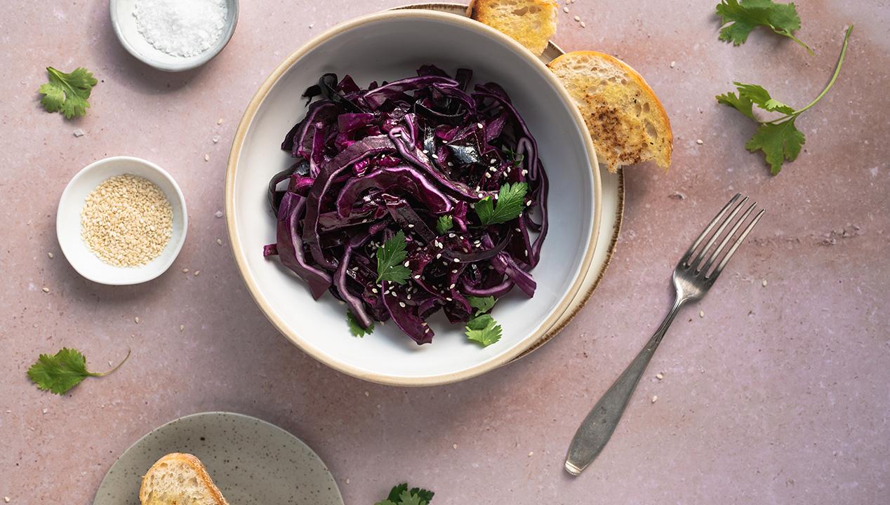 Schneller Rotkohlsalat – einfaches Rezept, ideale Beilage