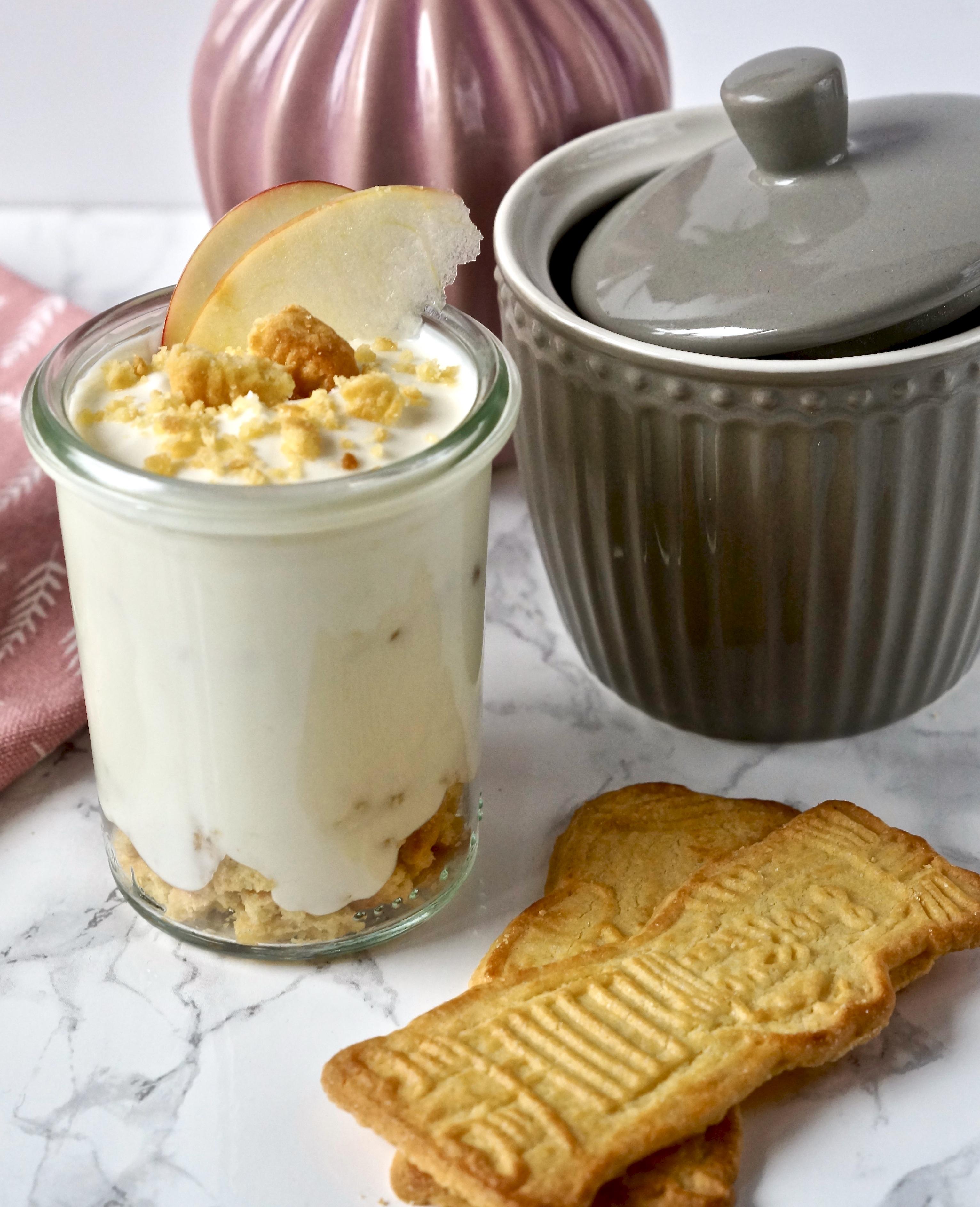 Spekulatius-Cheesecake-Dessert