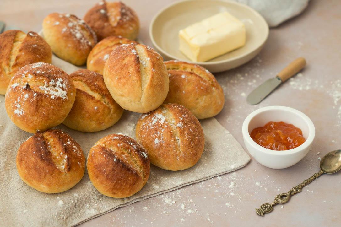 Fluffige Kartoffelbrötchen – Kartoffeln verwerten