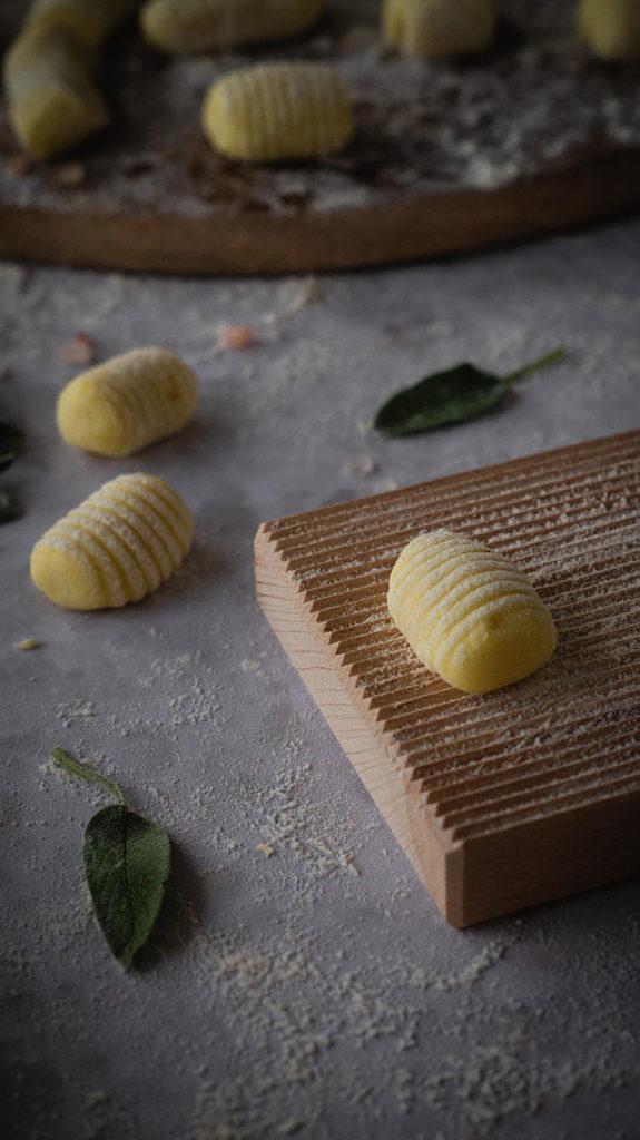 Gnocchi ohne Gries mit 2 Zutaten