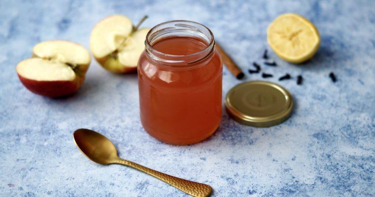 Apfelschalen verwerten – Winterliches Apfelgelee