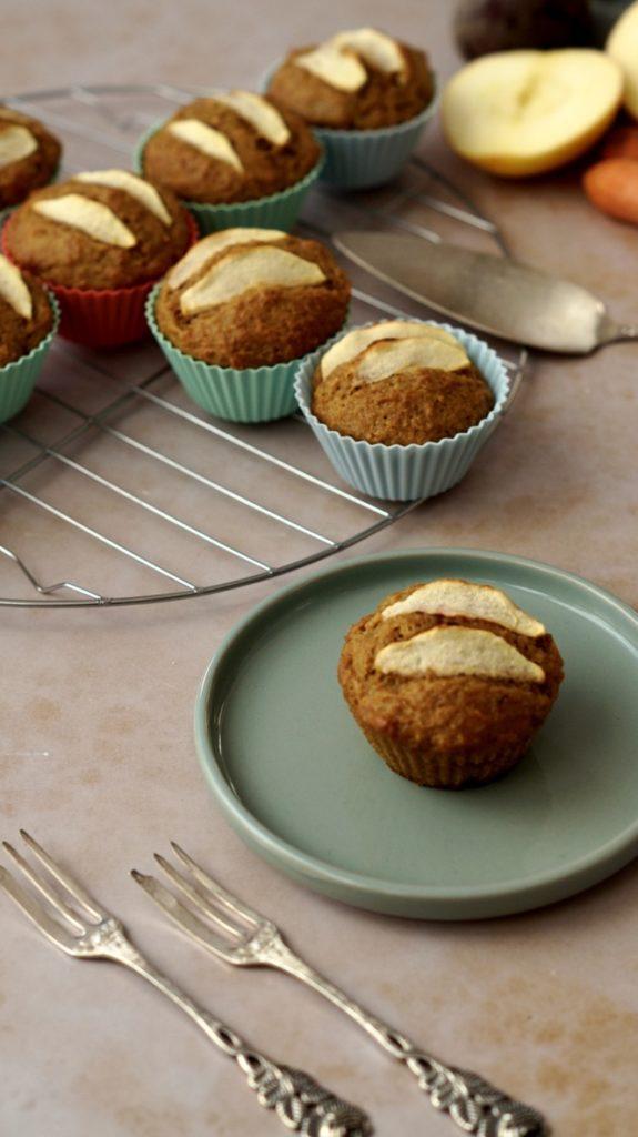 Tresterverwertung - vegane Muffins