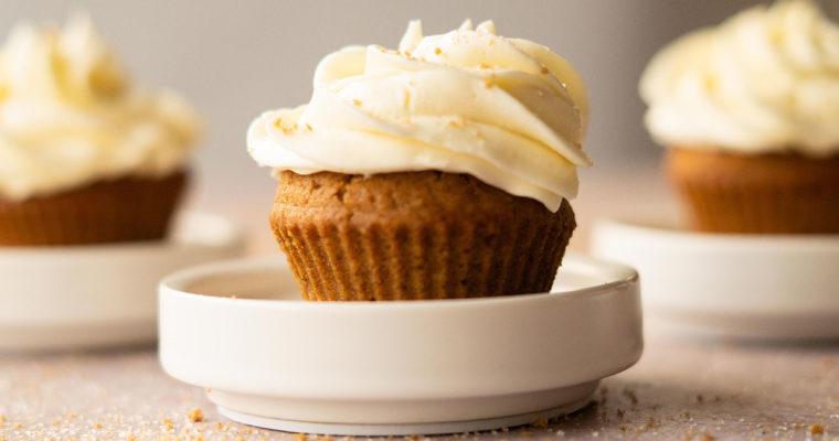 Spekulatius Muffins vegan – Spekulatius Resteverwertung