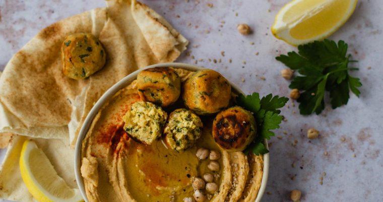 Falafel aus Kichererbsenmehl – schnell und einfach
