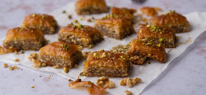 Veganes Baklava – Nüsse verwerten