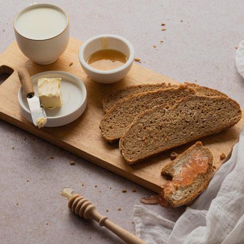 Buttermilch-Vollkorn-Brot