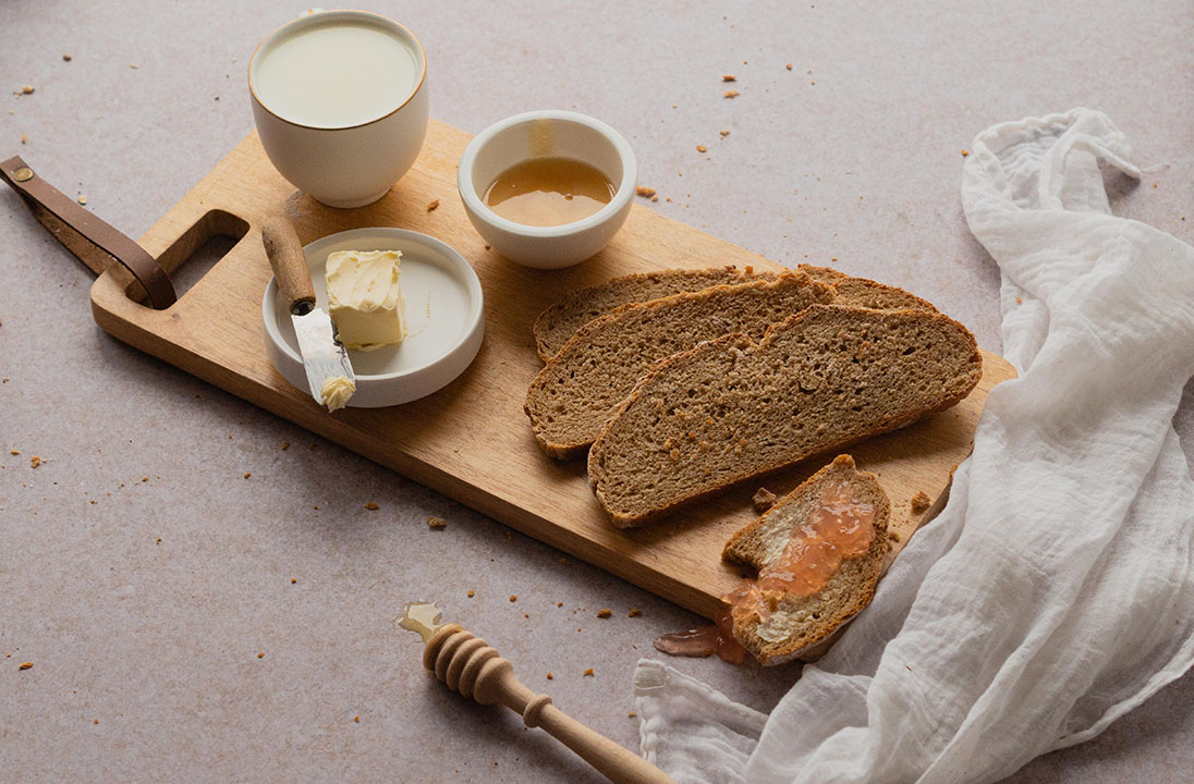 Buttermilch-Vollkorn-Brot, selbstgemacht