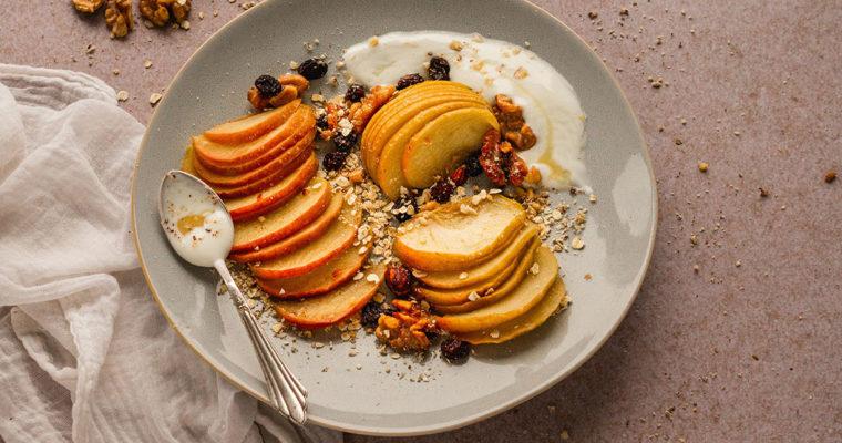 Apfel aus dem Ofen – oder schneller Bratapfel