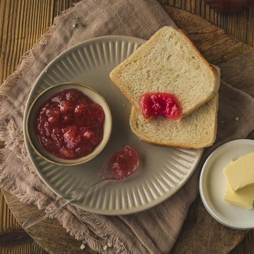 Rhabarber Marmelade mit Apfel