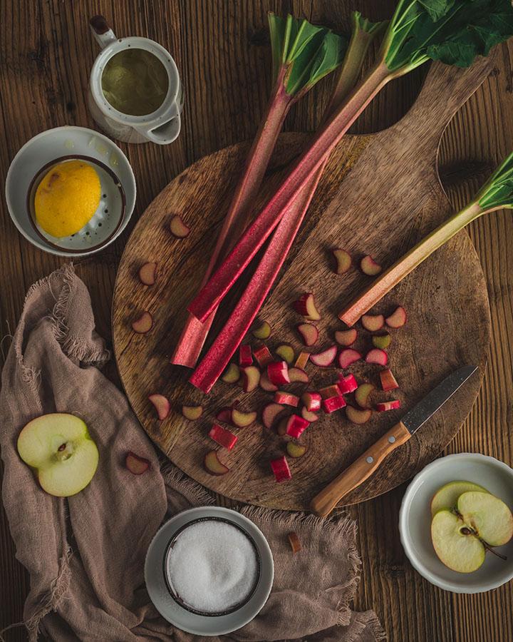 Zutaten für die Marmelade