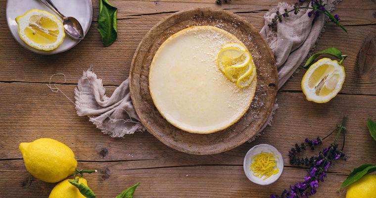 Amerikanischer Zitronen Pie mit Kondensmilch