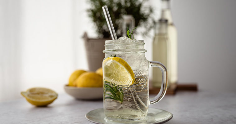 Rosmarin Zitronen Sirup – Limonade selber machen