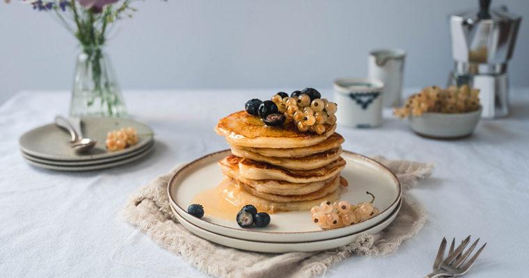 Ricotta Pancakes ohne Ei – einfach und schnell
