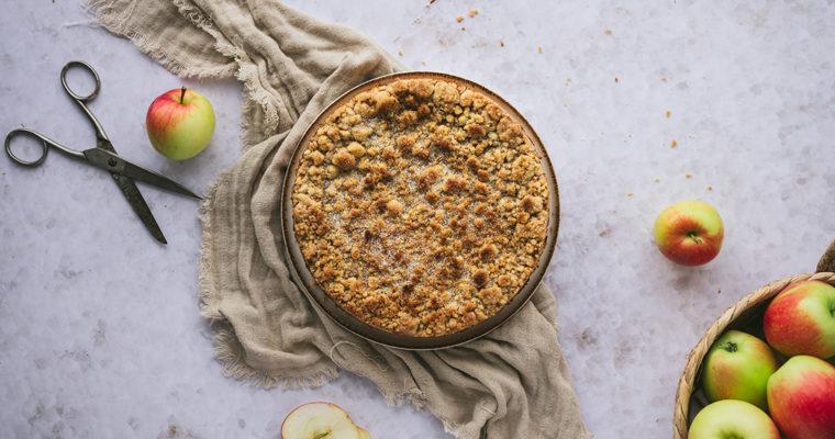 Apfelmus Streuselkuchen – Apfelmus Resteverwertung