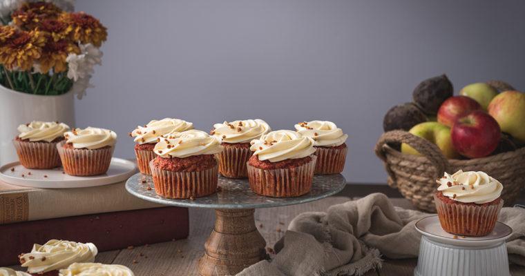 Muffins aus Entsafterresten – Trester Verwertung (vegan)